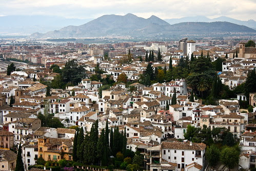Albaicín neighborhood, Granada, Spain