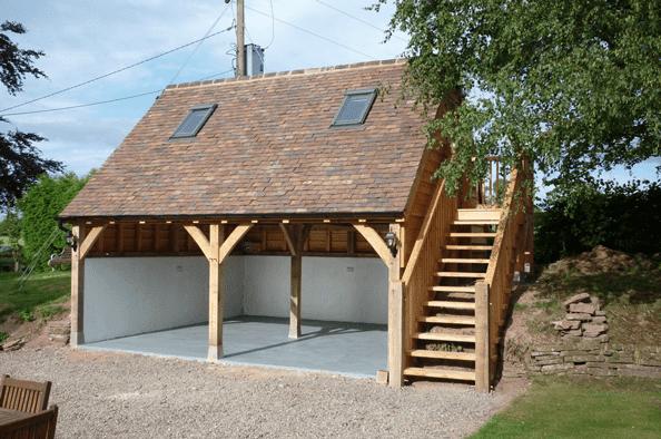 Wooden Garages - Simon Bowler