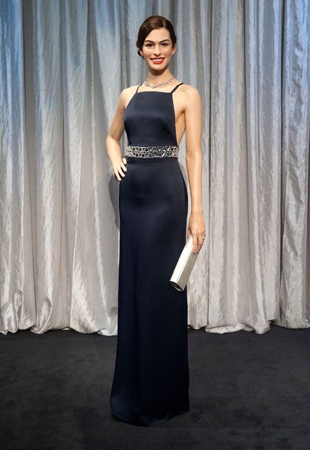 estátua de Anne Hathaway (Foto: Getty Images)