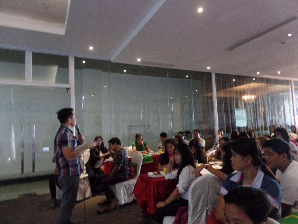 The VoiceMaster Speaks at the International Seminar-Workshop for Campus Journalism