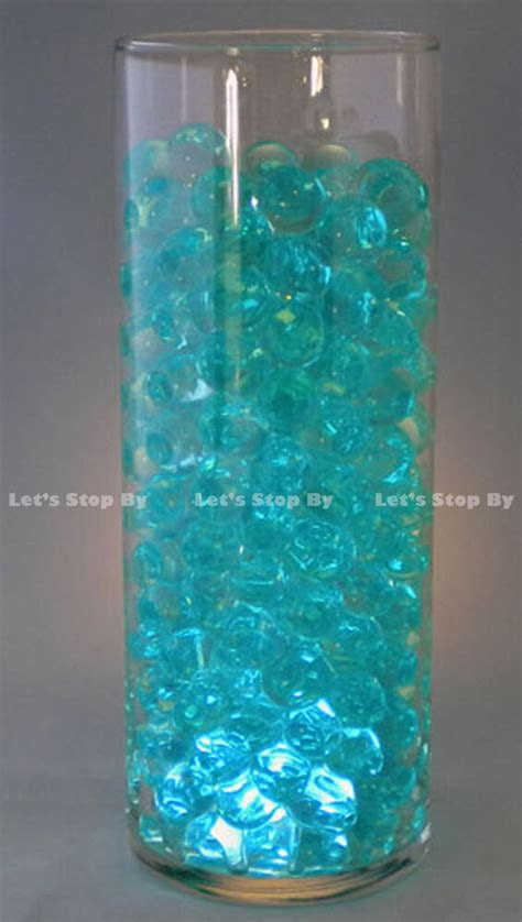 water bead turquoise wedding supplies floral vase