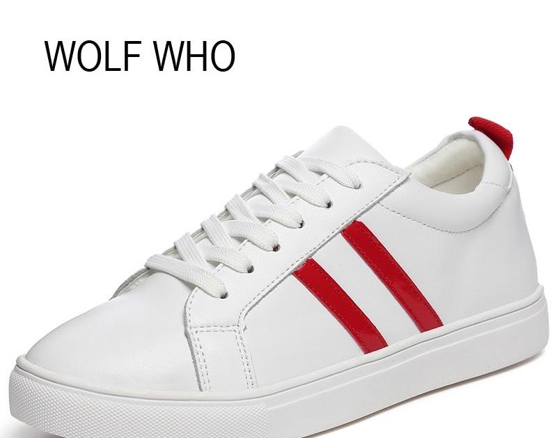 84e2d00e45b Kopen Goedkoop WOLF DIE Vrouwelijke Witte Mode Sneakers Vrouwen ...