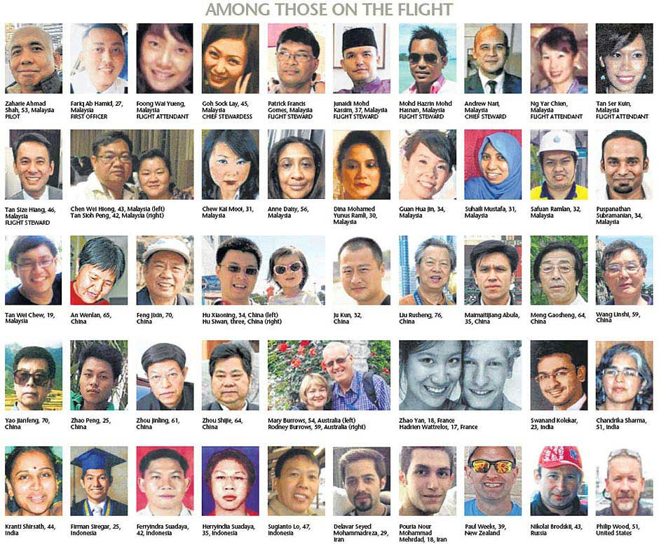 Image result for mh370 passengers