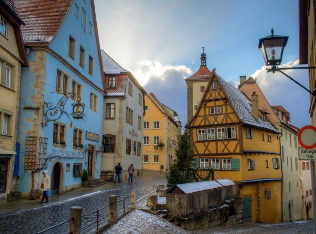 Rothenburg, A German Town With Medieval History