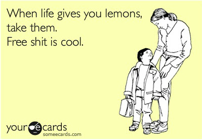When Life Gives You Lemons Funny Pictures Quotes Pics Photos
