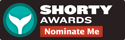 Nominate Simon Harvey for a social media award in the Shorty Awards!