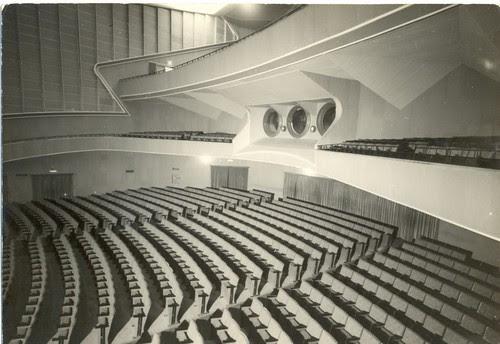 Interior del Palacio del Cine, 1800 butacas.