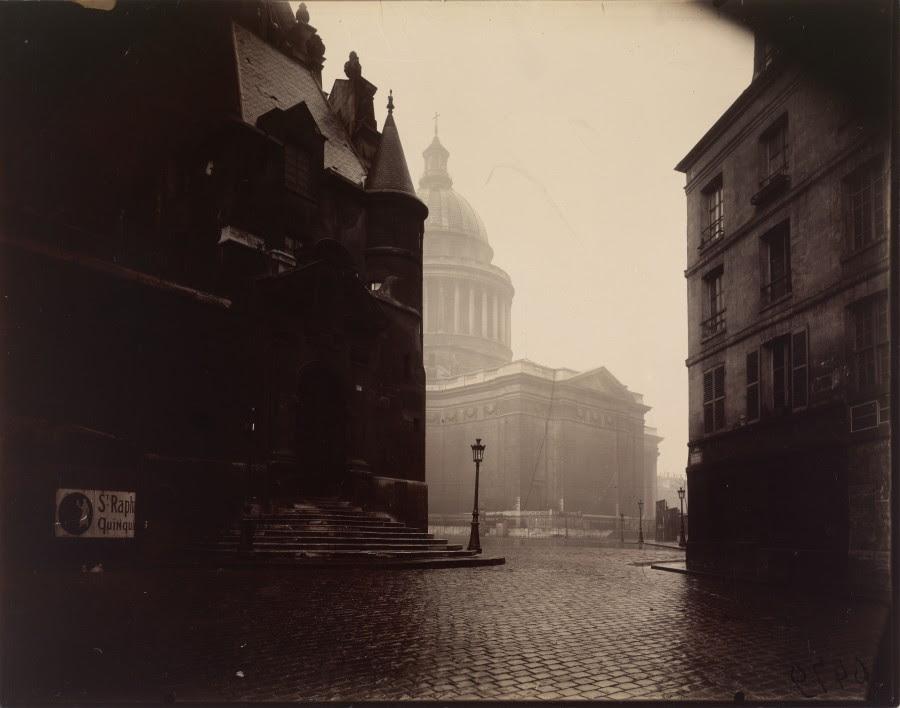 Atget Paris Le Panthon 900x708 Le Paris de 1900 par Atget  photographie histoire art