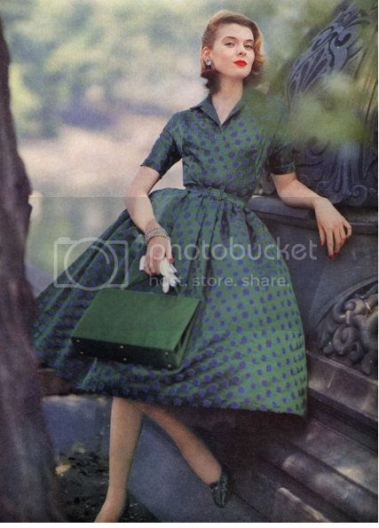 Chronically Vintage 25 Fabulous 1950s Spring Fashions To