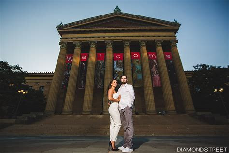 Philadelphia Art Museum Engagement photos   Philadelphia