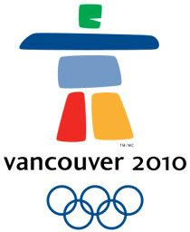 The logo for the XXI Olympic Winter Games in Vancouver, Canada.