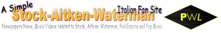 Stock Aitken Waterman - A Simple Stock Aitken Waterman Italian Fan Site (& Kylie Minogue)