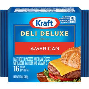 Kraft American Slices 16 ct Cheese 12 OZ PACK - Food ...