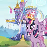 twilight sparklein kraliyet kutlamasi oyunu oyna pony
