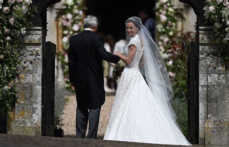 pippa middletons wedding dress peoplecom