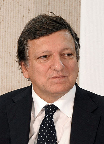 English: Commission President José Manuel Barr...