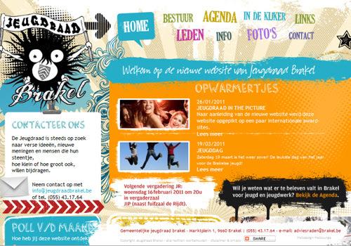 40 diseños web muy creativos - jeugdraadbrakel