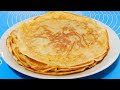 Recette Crepes Huile