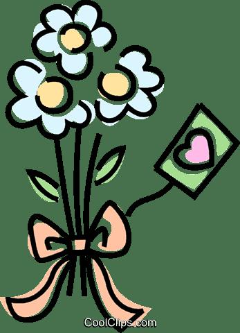 Ramo De Flores Libres De Derechos Ilustraciones De Vectores Clipart
