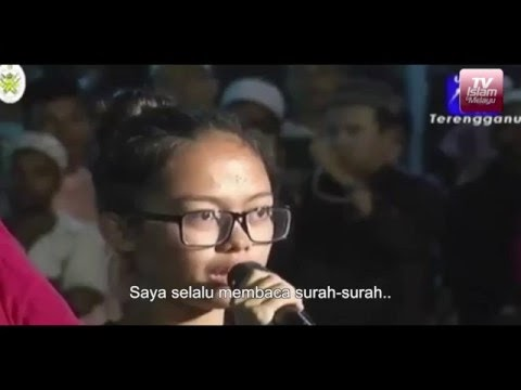 Gadis Kristian Masuk Islam Selepas Dengar Syarahan Dr Zakir