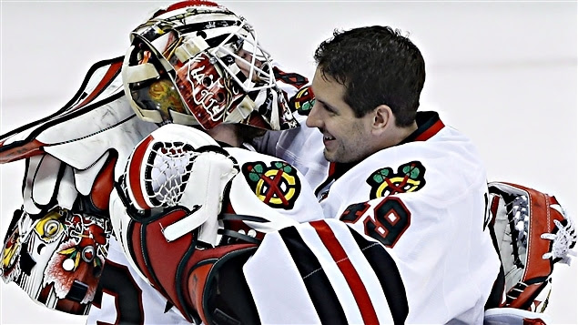 Scott Darling et Michael Leighton