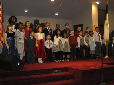 Church Christmas prog
