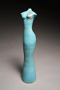 All Things Near and Dear - Ceramic Sculpture - by Cathy Broski