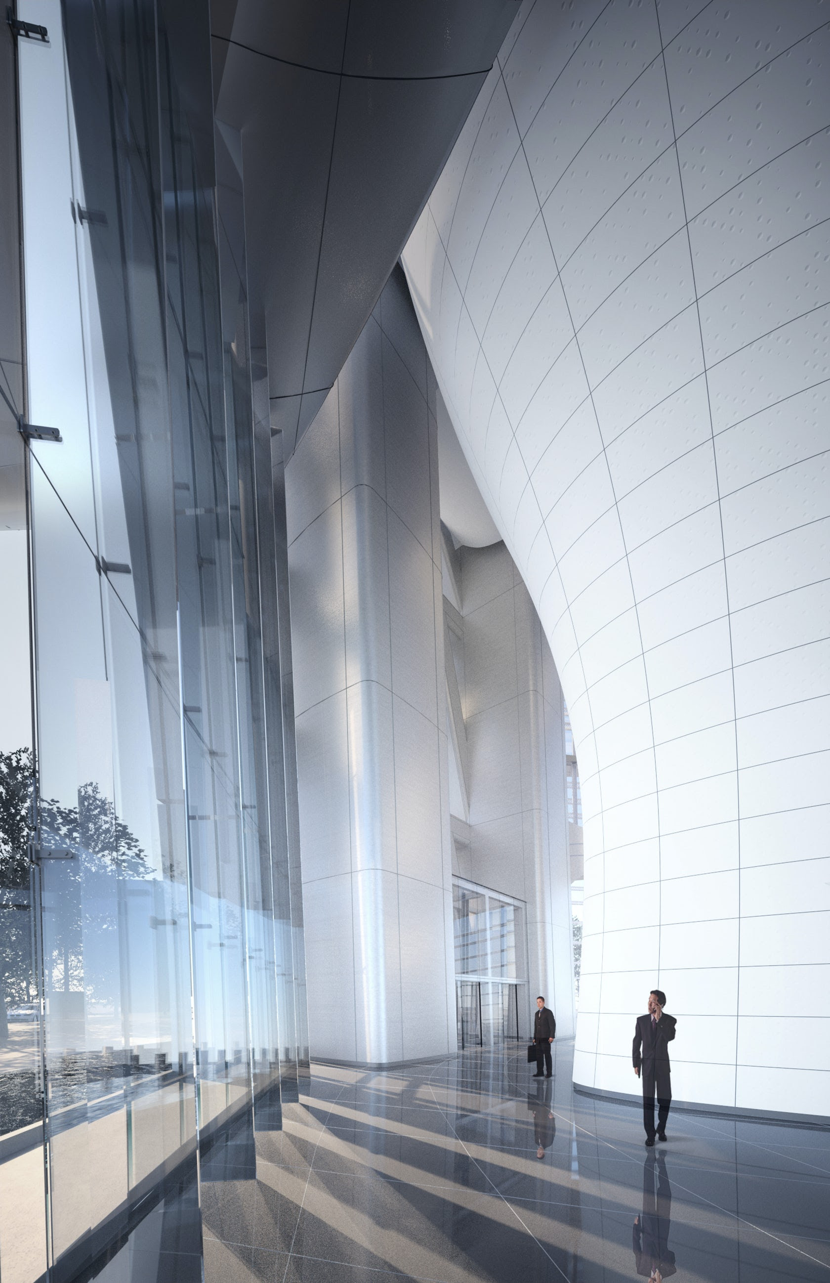 Wuhan Greenland Center By Adrian Smith Gordon Gill Architecture Architizer