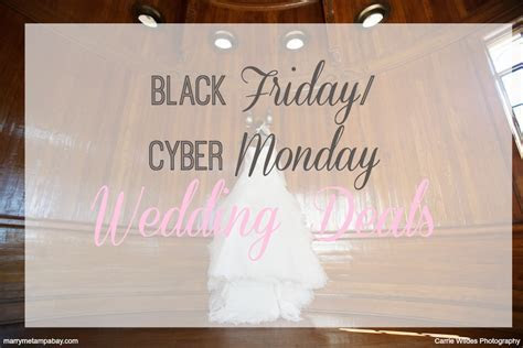 Black Friday/Cyber Monday Wedding Deals & Discounts