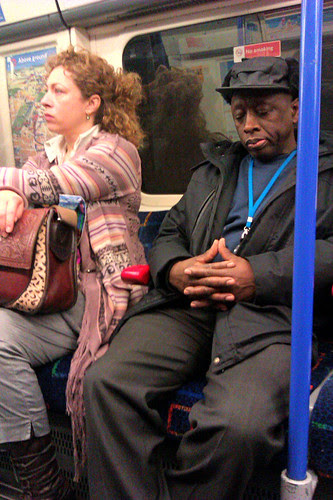 Alex Kingston on the Tube 2
