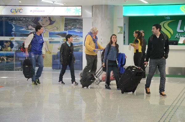 Maioria dos passageiros do voo Gol 7461 são turistas estrangeiros