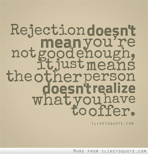 Quotes Not Being Good Enough