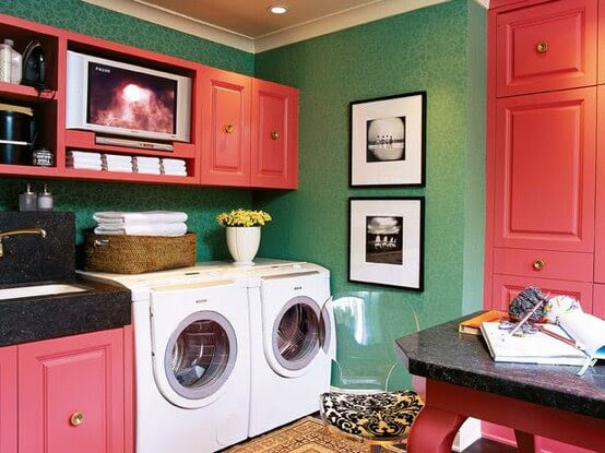 Luscious Laundry Rooms | HomeJelly