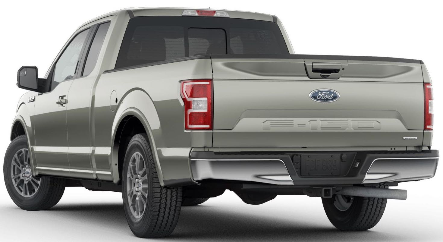New Silver Spruce Color Of The 2019 Ford F 150 First Look