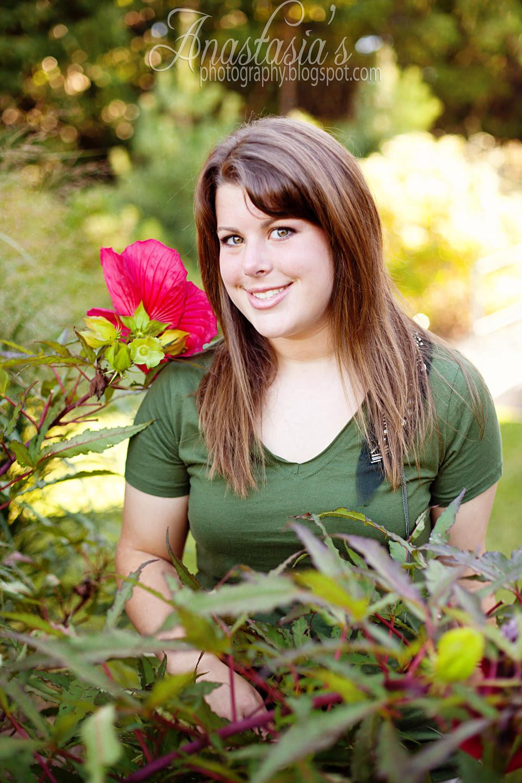 High school senior Jaclyn 2011