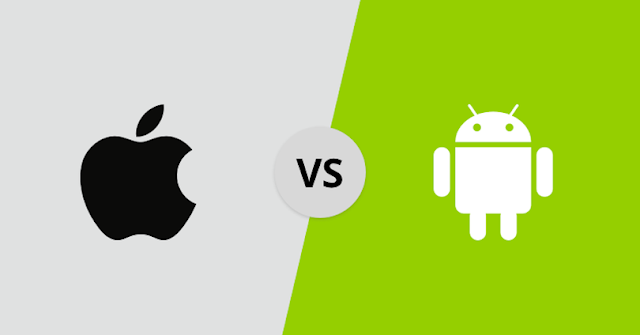What differences do we find between iOS and Android when playing?