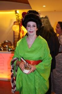 Occidental in Kimono