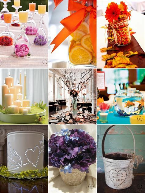 Emanuela's blog: cheap wedding centerpieces