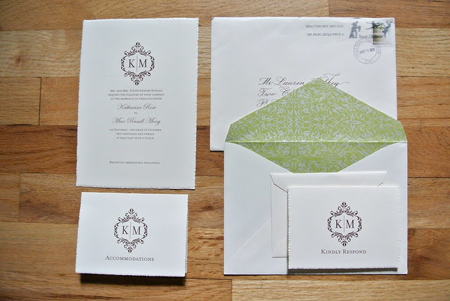 Pretty Wedding Invitations