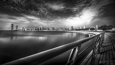 Magnificent Dubai Skyline by Swapnendu Mazumdar