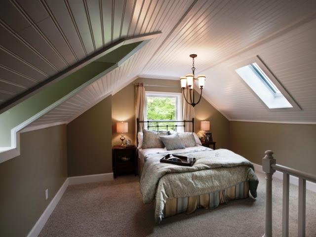 Schlafzimmergestaltung mit Dachschräge zum Wohlfühlen