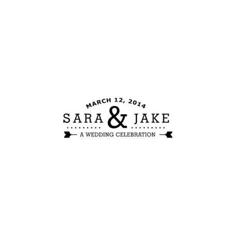 "Perfect composition   wedding logo   ""You're invited"