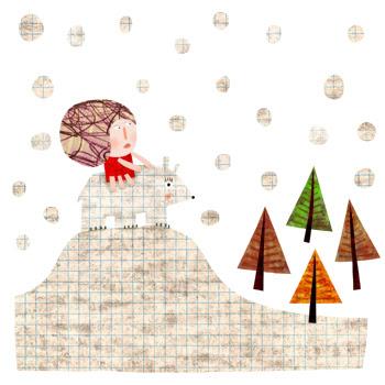 Jacinthe Chevalier illustration ernestine