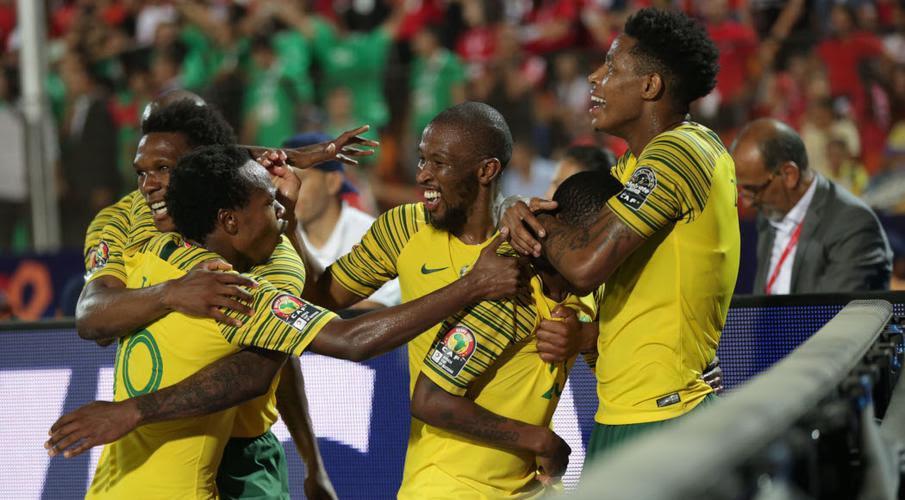 Gallant Bafana eliminate hosts Egypt
