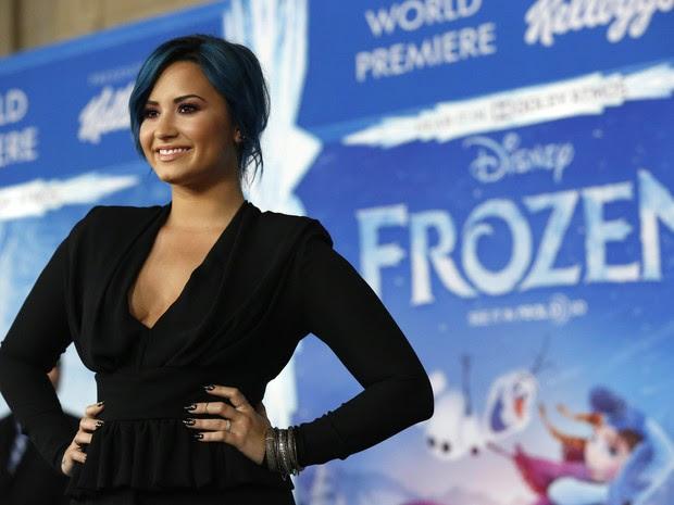 Demi Lovato em première de filme em Los Angeles, nos Estados Unidos (Foto: Mario Anzuoni/ Reuters)