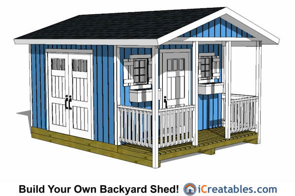 12x16 Shed Plans Professional Designs Easy Instructions
