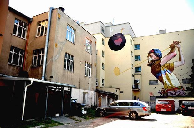 Creative Street Art Wall Murals by Etam Cru » Design You Trust