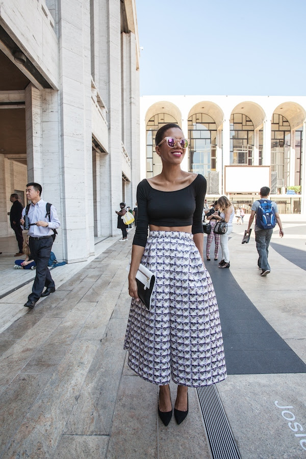 NYFW full skirt look 1 - STYLE ME GRASIE