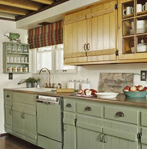 cabinets with cross bars