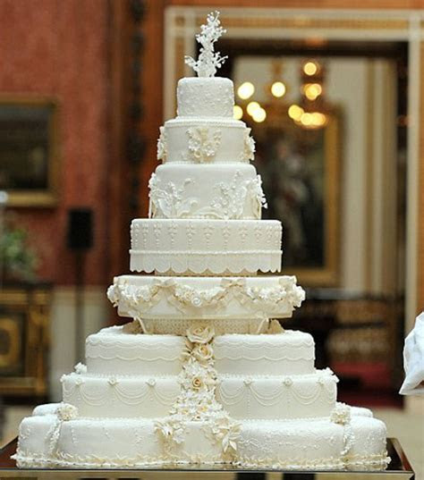 Kate Middleton and Prince William?s Wedding Cake